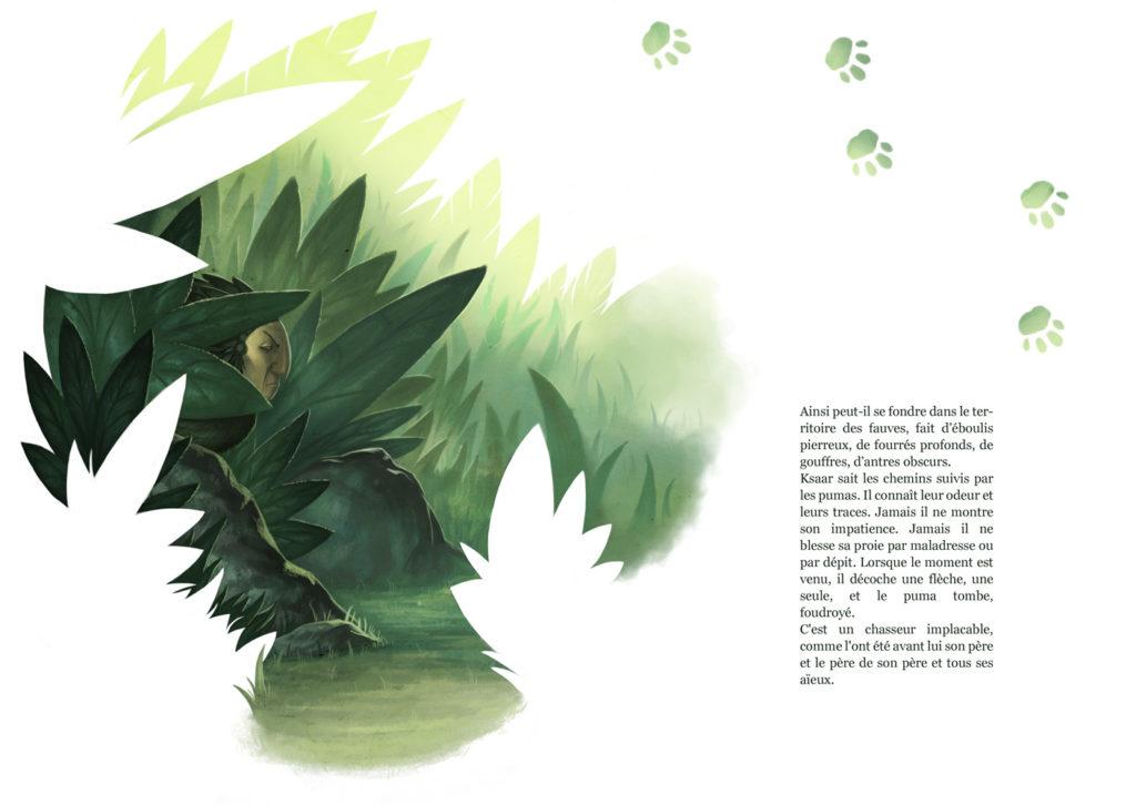 Seigneur Puma - pages intérieures