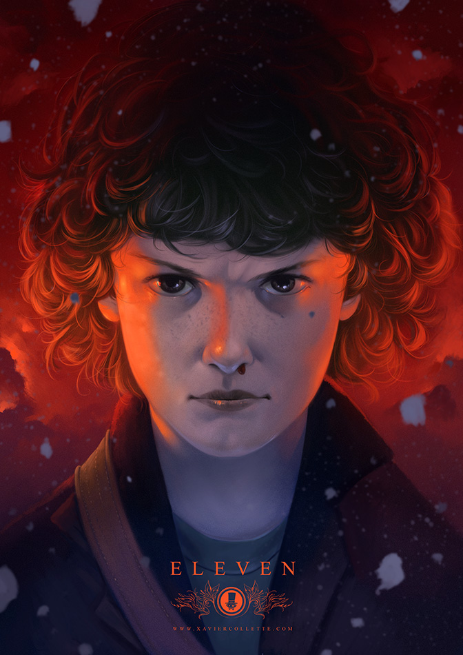 Fanarts - Eleven (Stranger things)