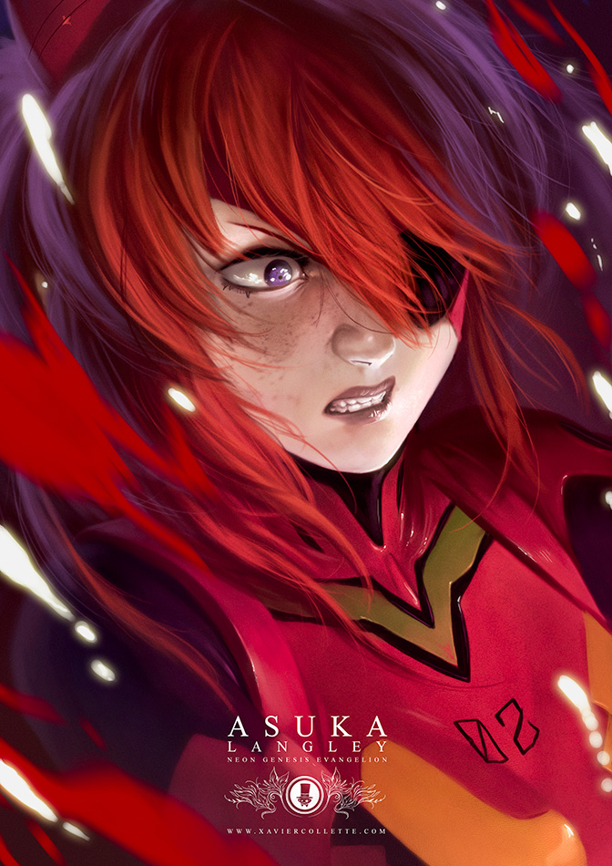 Fanarts - Asuka (Neon Genesis Evangelion)