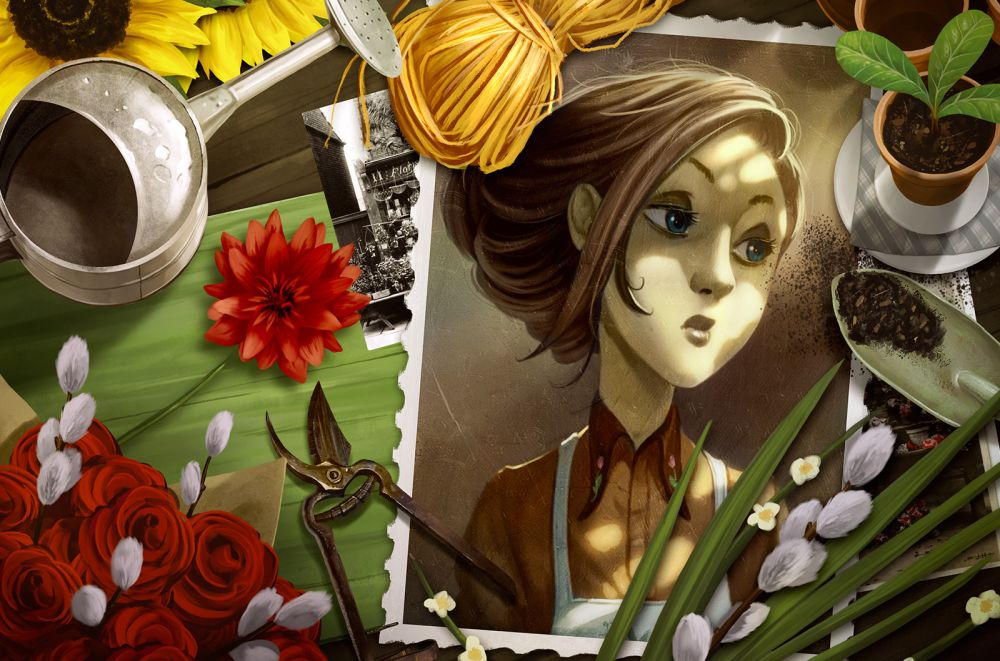 Mysterium Secret and lies - carte personnage