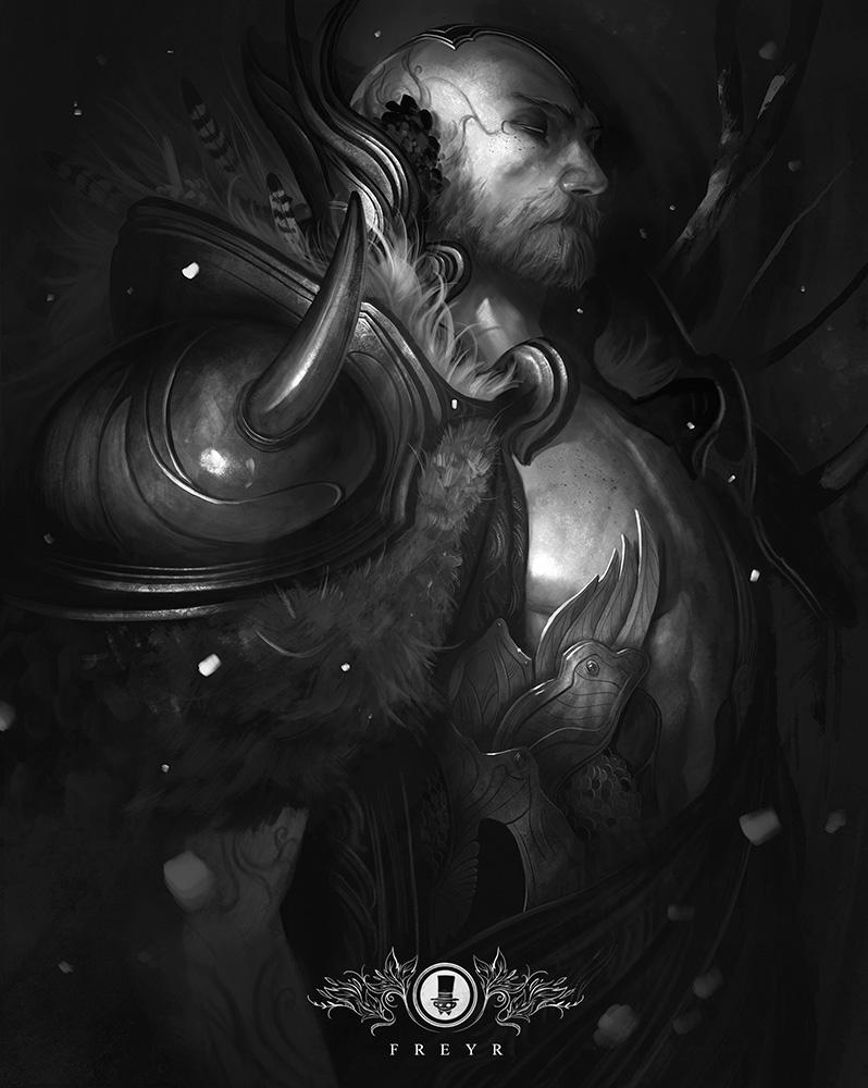 North Mythology - Freyr