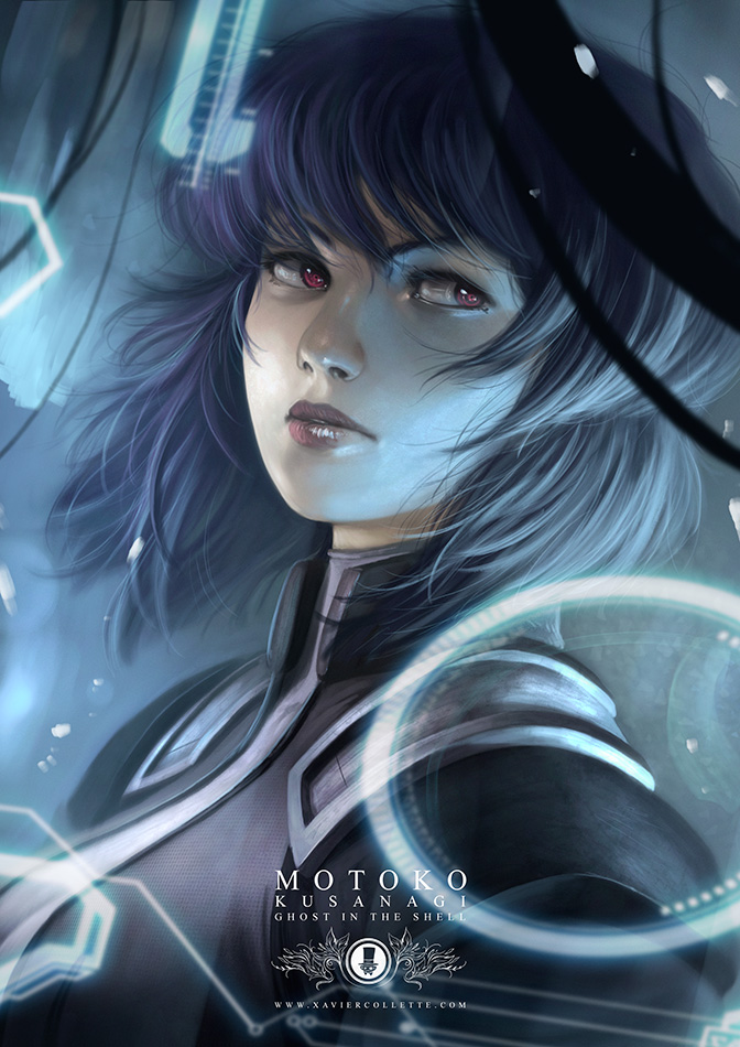 Fanarts - Motoko (Ghost in the shell)