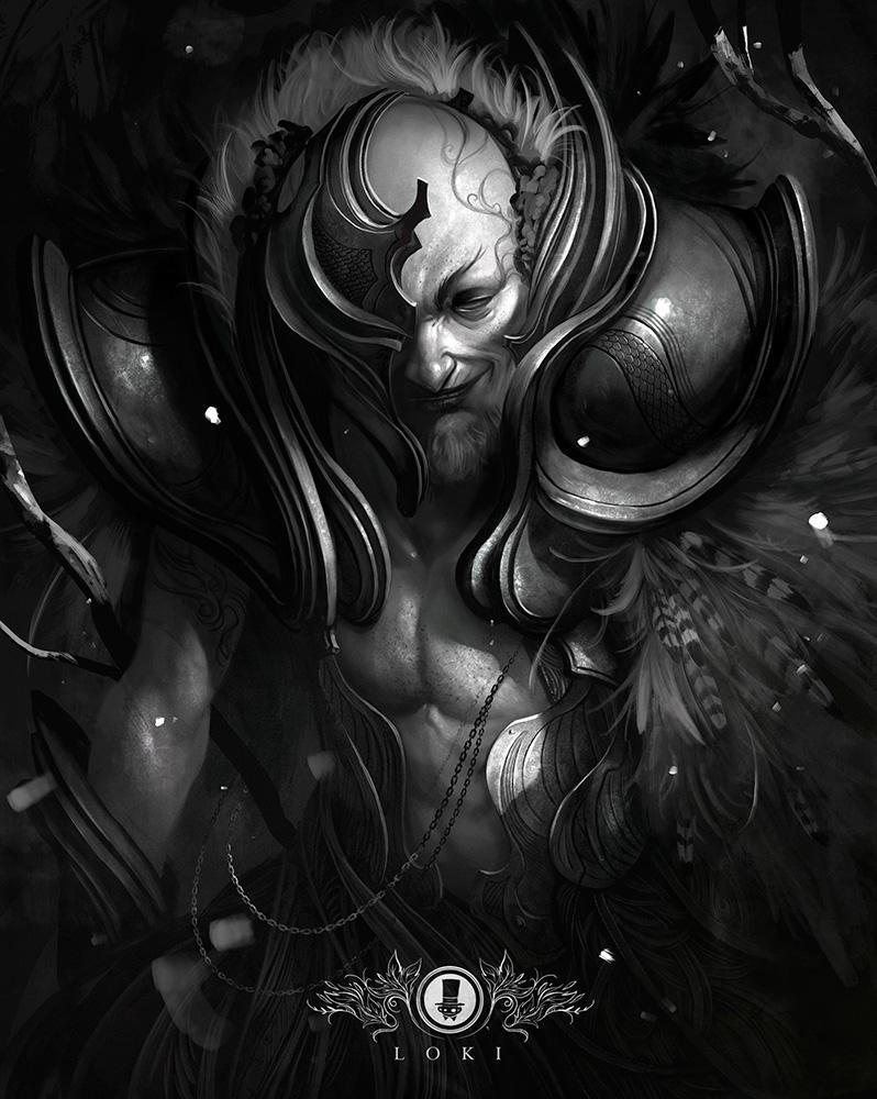 North Mythology - Loki