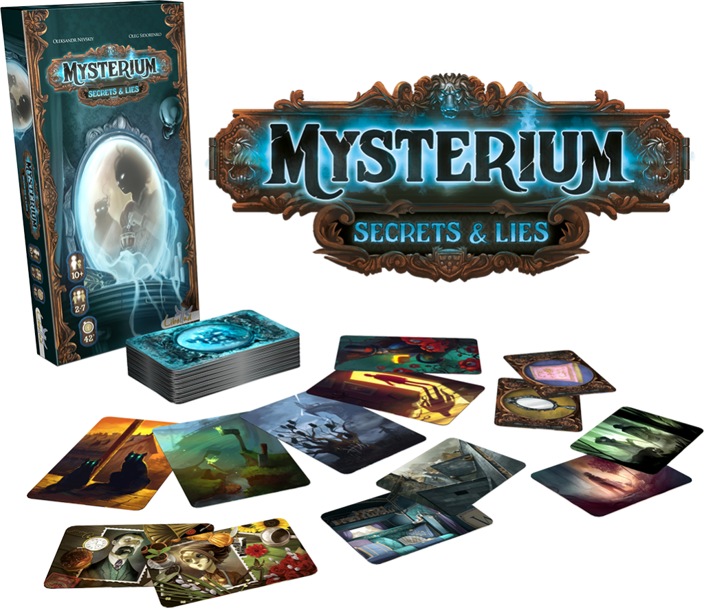 Mysterium: Secret and lies - la boite