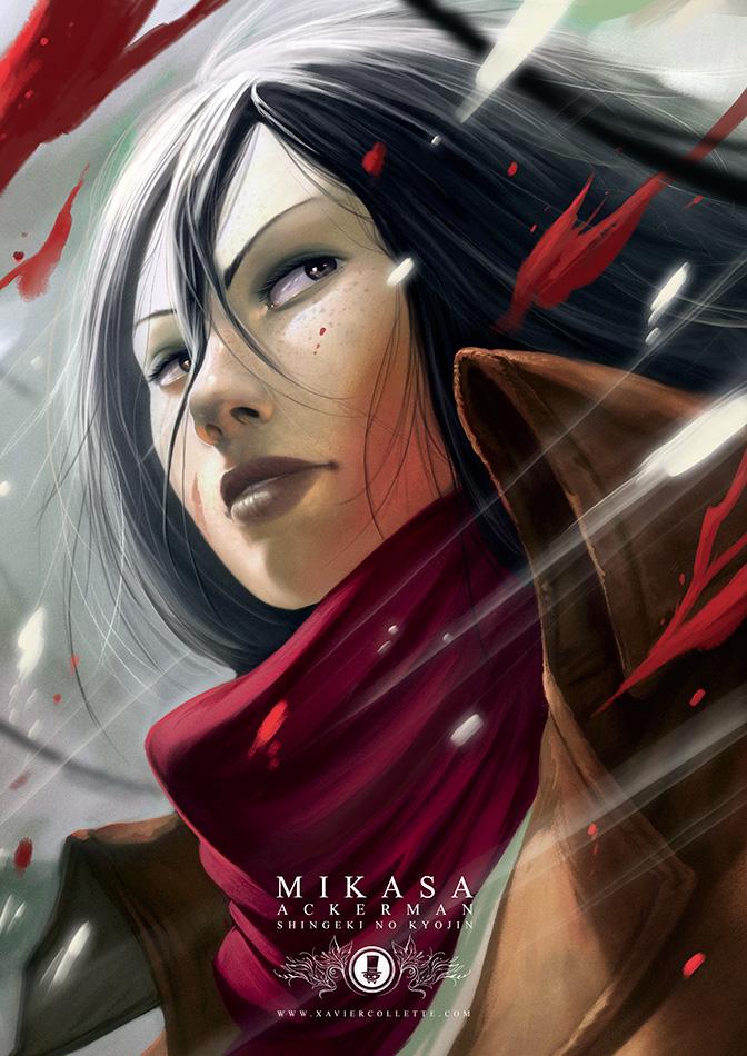 Fanarts - Mikasa (L'attaque des titans)