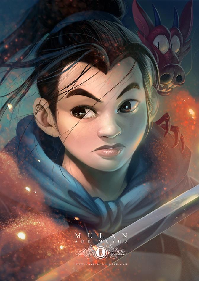 Fanarts - Mulan