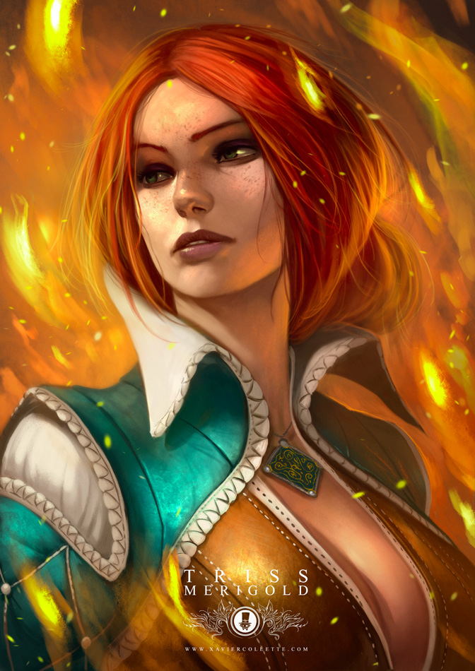 Fanarts - Triss Merigold (The Witcher 3)
