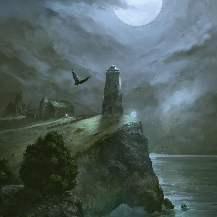 Le phare au corbeau