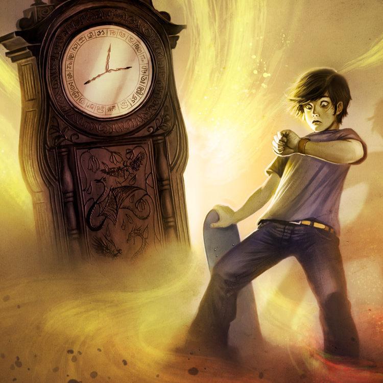 L'horloge du temps perdu - couverture