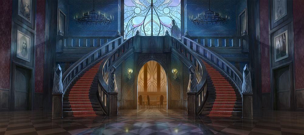 Mysterium - écran de jeu