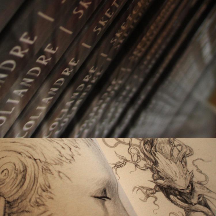 Sketchbook vol.1 - pages intérieures