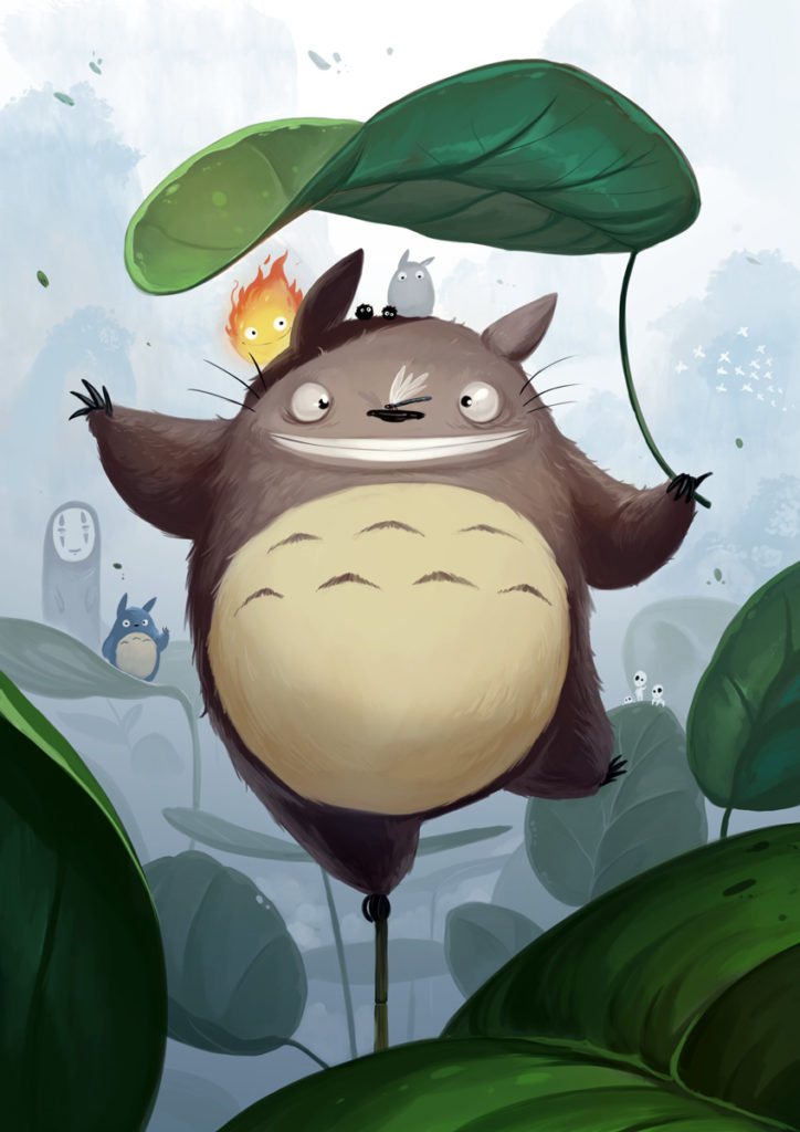 Fanarts - Totoro