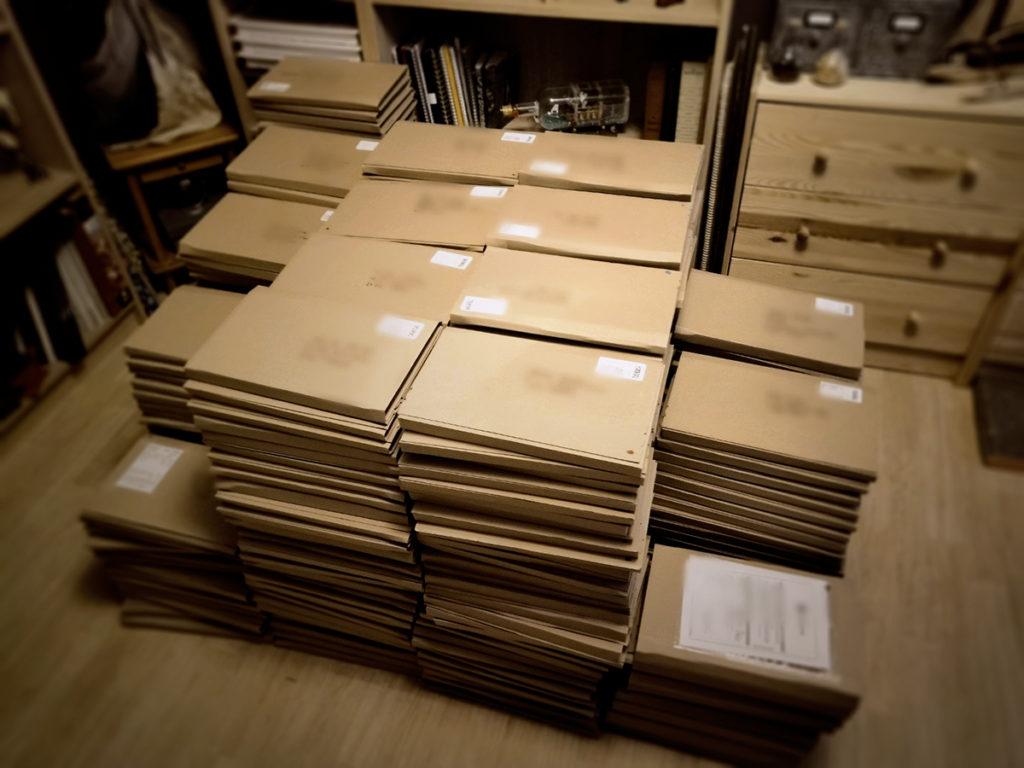 Colis des livres Little Witches Exodus