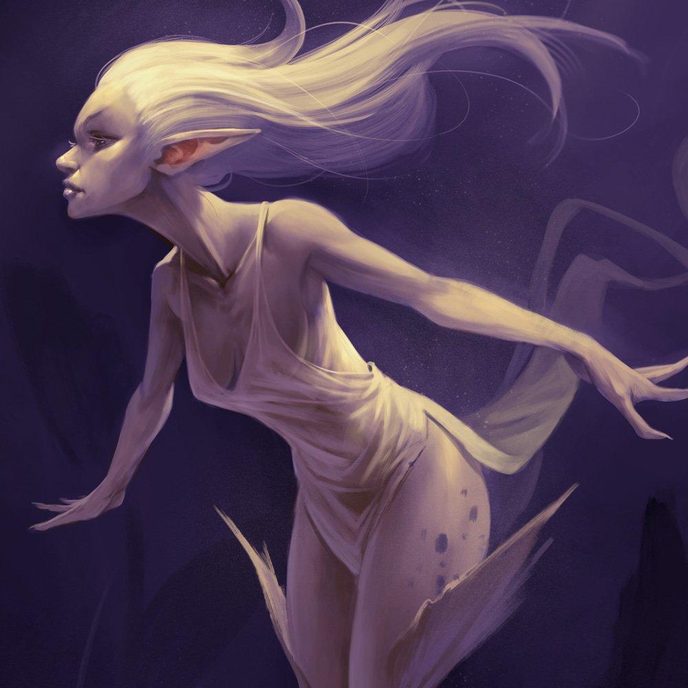 Illustration de fée