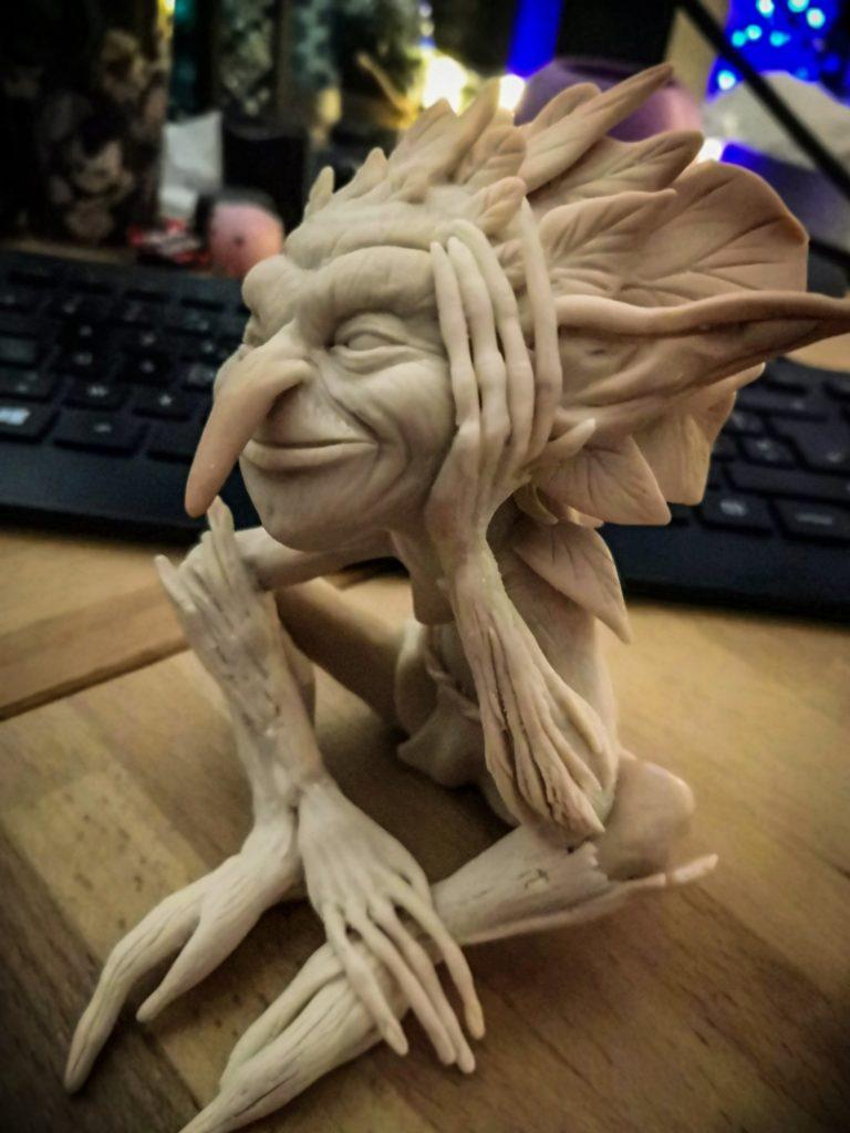 Modelage de figurine
