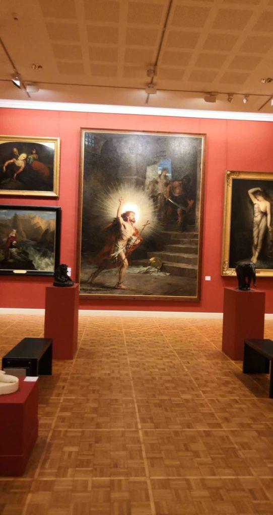 Photo du musée des beaux arts de Rennes