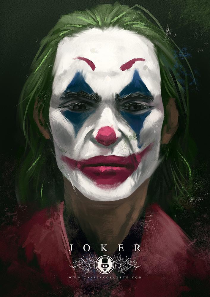 Illustration fanart Joker
