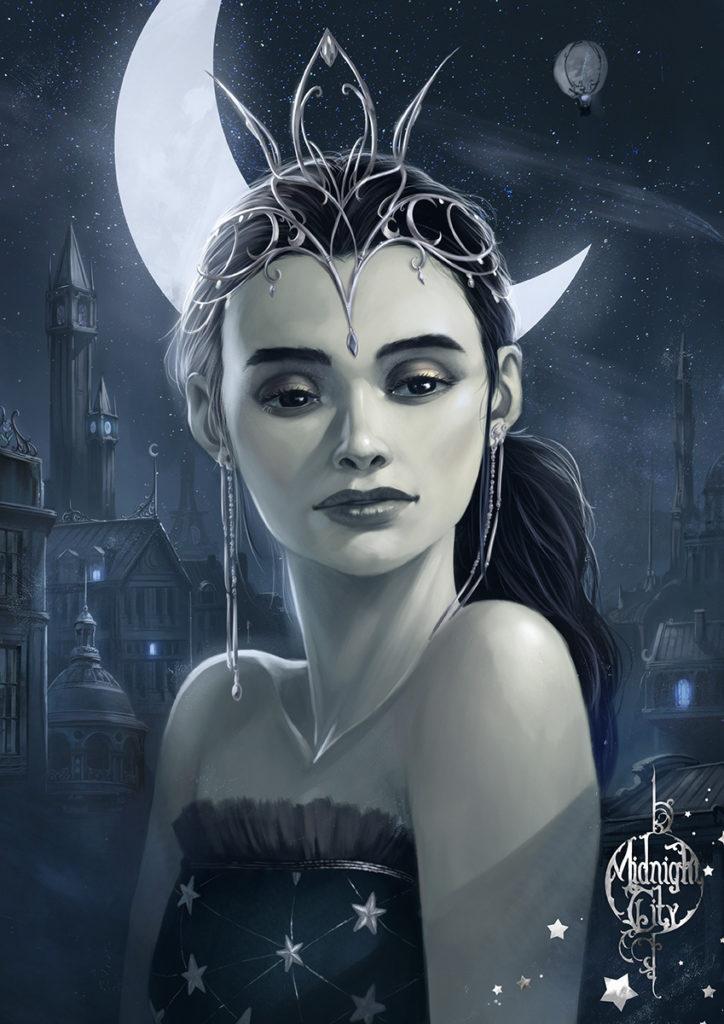 Illustration pour le roman Midnight City