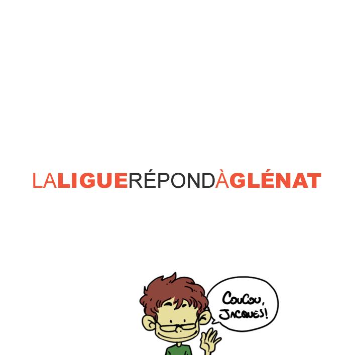 Réponse à Jacques Glénat